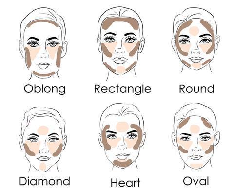 صورة مكياج الوجه البيضاوي , كيف تبرزي جمال وجهك البيضاوي بالمكياج