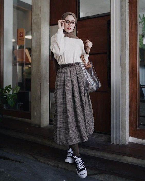 صورة تنسيق ملابس محجبات , اقوي كولكشن ملابس للمحجبات 3591 1