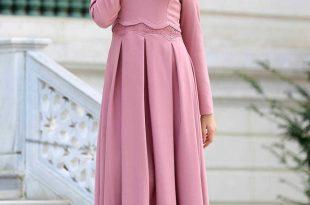 صورة فساتين انيقة للمحجبات , تانقي باروع طله بفستان يناسب الحجاب 3720 14 310x205