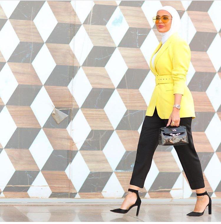 صورة ملابس موضة للمحجبات , احدث عروض الملابس للمحجبات