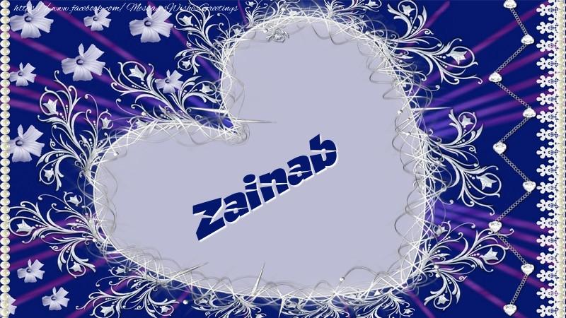 صورة كلمة زينب بالانجليزي , اجمل اسماء العرب 3116 1
