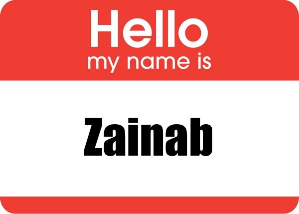 صورة كلمة زينب بالانجليزي , اجمل اسماء العرب 3116 2