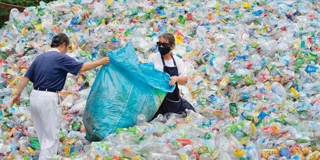 صورة شراء مخلفات البلاستيك , مخلفات البلاستيك صديقة للبيئة