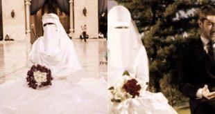 صور عروسة منتقبة جميلة جدا , تالقي يوم زفافك واحتفظي بالنقاب