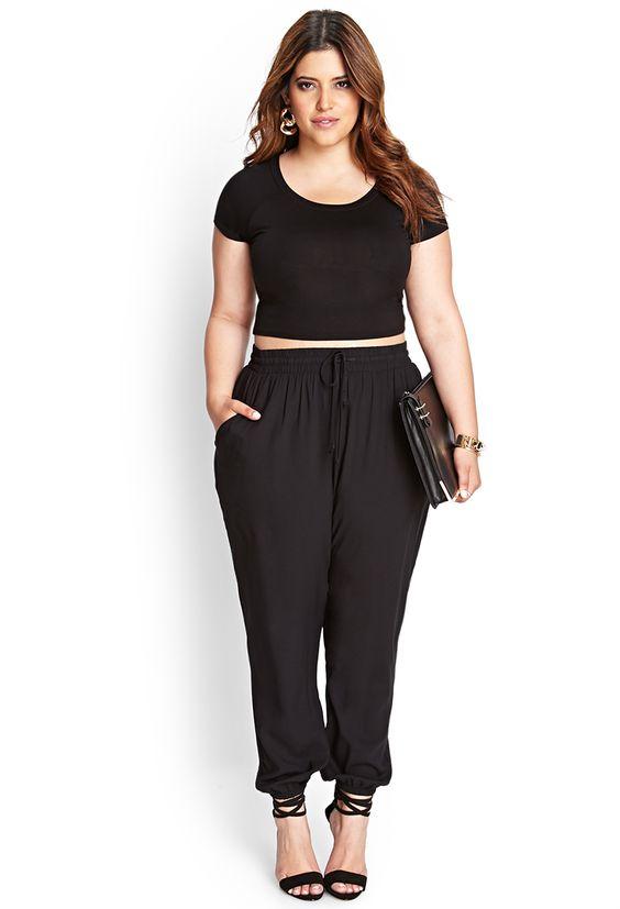 صورة ملابس للسمينات بالصور , السمينة لها حظ في الملابس 3295 2