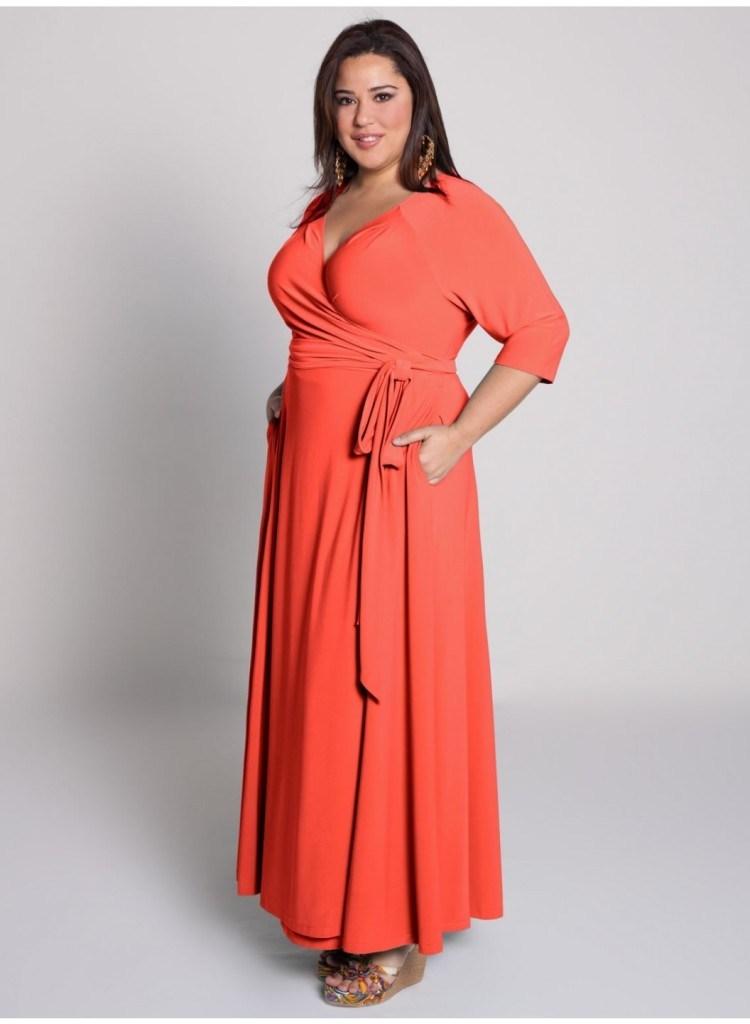 صورة ملابس للسمينات بالصور , السمينة لها حظ في الملابس 3295 4