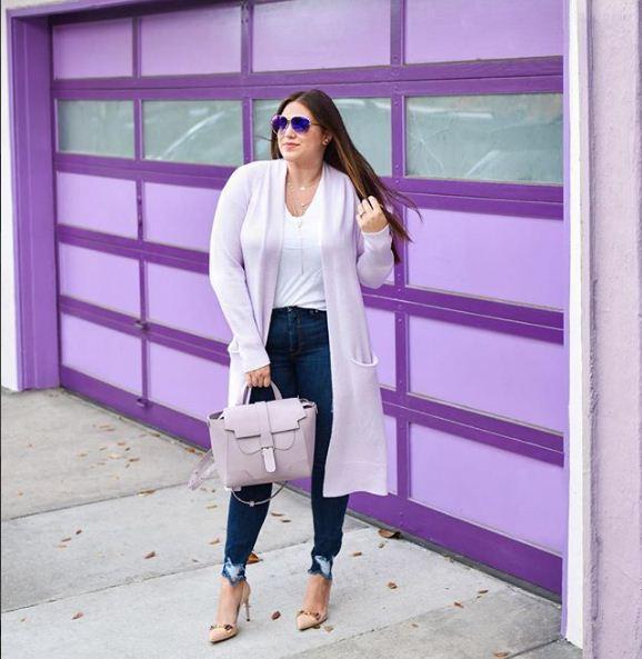 صورة ملابس للسمينات بالصور , السمينة لها حظ في الملابس 3295 5