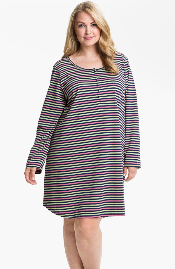 صورة ملابس للسمينات بالصور , السمينة لها حظ في الملابس 3295 7