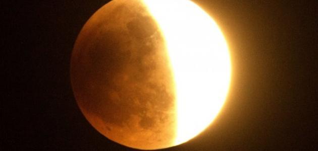 صورة تفسير حلم خسوف القمر , دلالات ومعاني خسوف القمر في المنام 3843