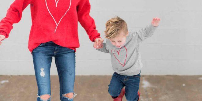صور ملابس عيد الحب , اطلالات ملابس الفالنتين باللون الاحمر
