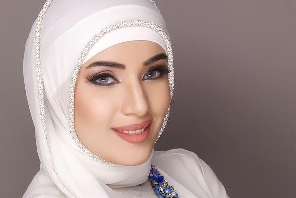 صورة طريقة لف الحجاب الكويتي , الحجاب الكويتي بكل سهولة ويسر