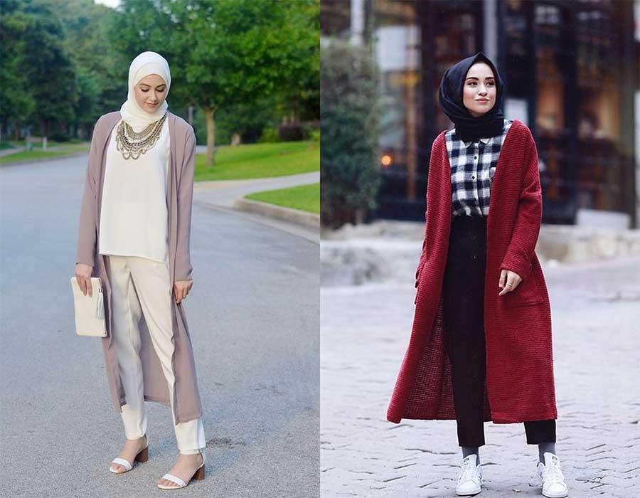 صورة ملابس خروج للمحجبات , موضة المحجبات لهذا العام روعة تجنن