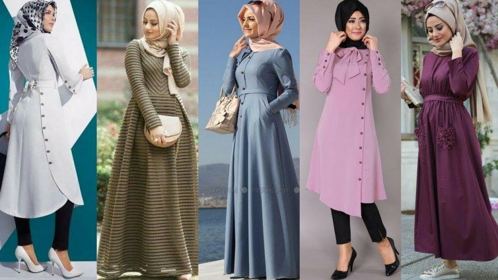 صورة ملابس خروج للمحجبات , موضة المحجبات لهذا العام روعة تجنن 2060 2