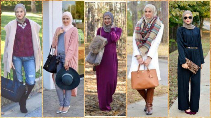 صورة ملابس خروج للمحجبات , موضة المحجبات لهذا العام روعة تجنن 2060 4