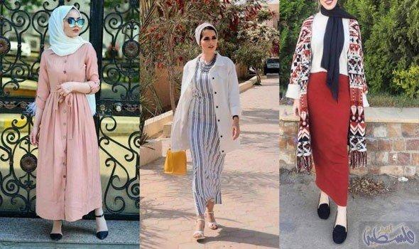 صورة ملابس خروج للمحجبات , موضة المحجبات لهذا العام روعة تجنن 2060 5