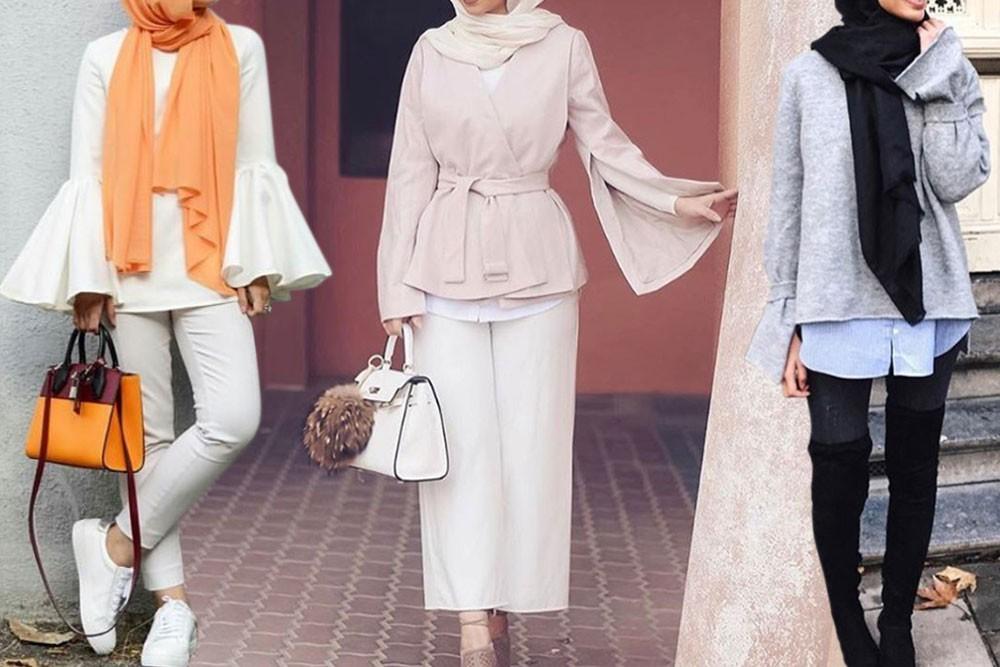 صورة ملابس خروج للمحجبات , موضة المحجبات لهذا العام روعة تجنن 2060
