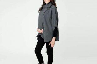 صورة ملابس حوامل شتوي , انت حامل والشتاء داخل علينا اشيك ملابس لك 2107 12 310x205