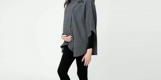 صورة ملابس حوامل شتوي , انت حامل والشتاء داخل علينا اشيك ملابس لك