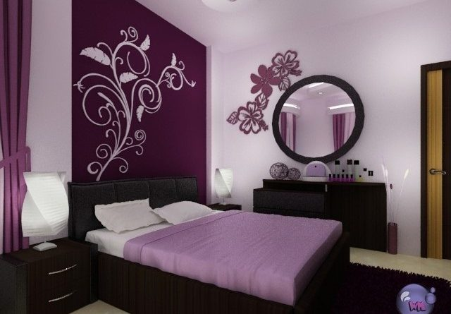 صورة اجمل الالوان لغرف النوم , طلاء لجدران الغرف وخصوصا غرف النوم 2216 9