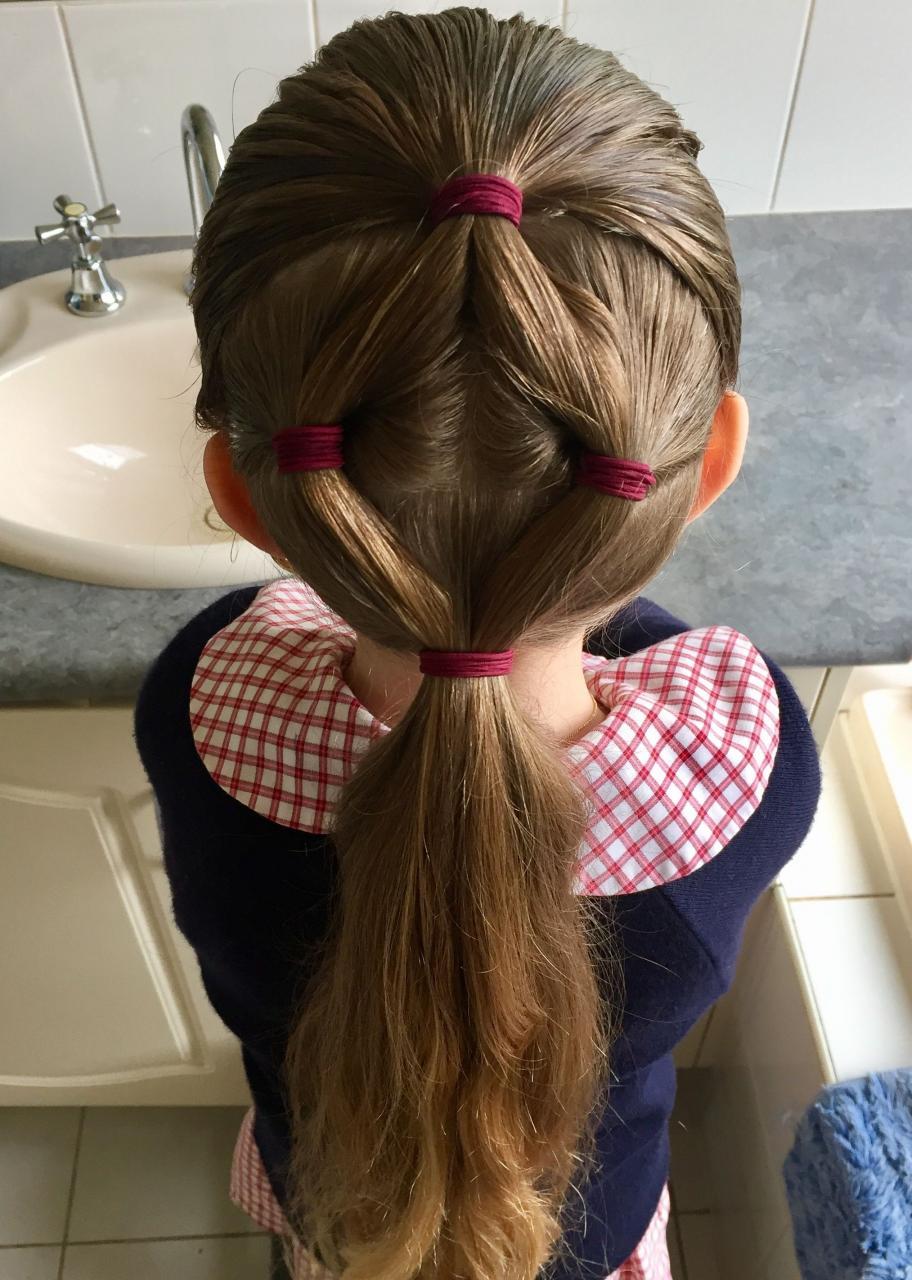 صورة تسريحات بسيطة للاطفال , اروع تسريحات الشعر لزيادة جمال طفلك 2521 3