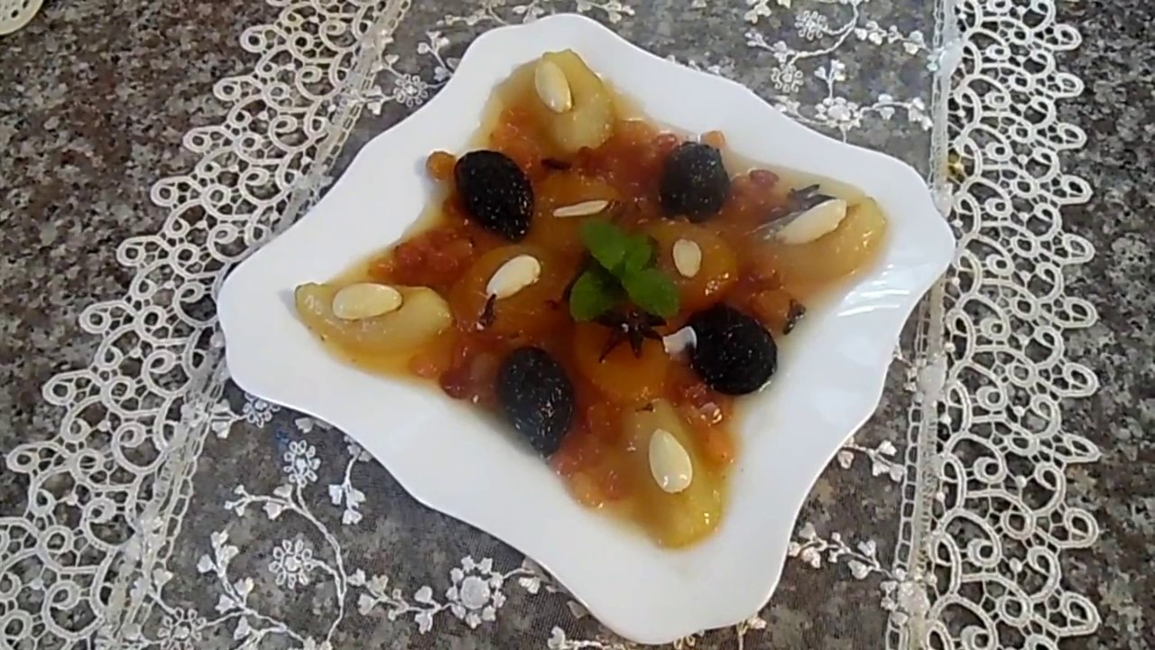 صورة طاجين الحلو الجزائري بدون لحم , اسرع طريقة لطاجين الحلو