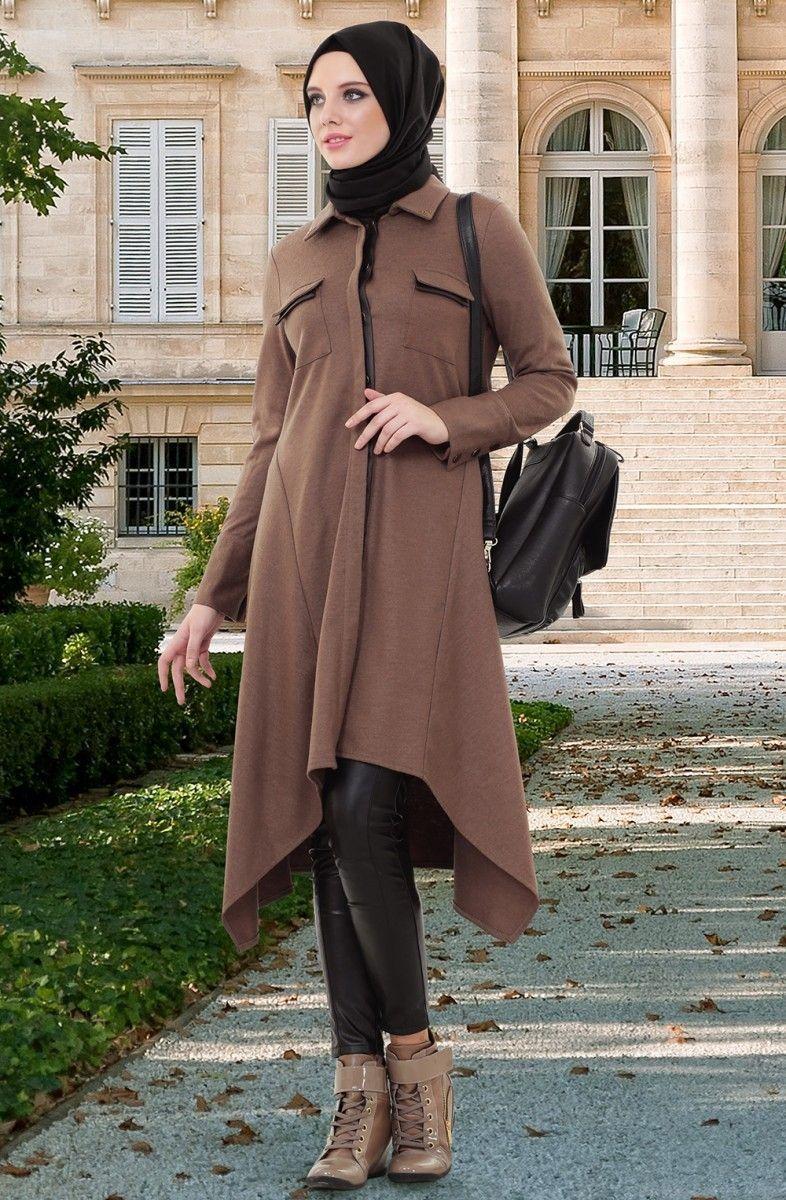 صورة ملابس بنات كيوت محجبات , موضة الشتاء للمحجبات 1108 4
