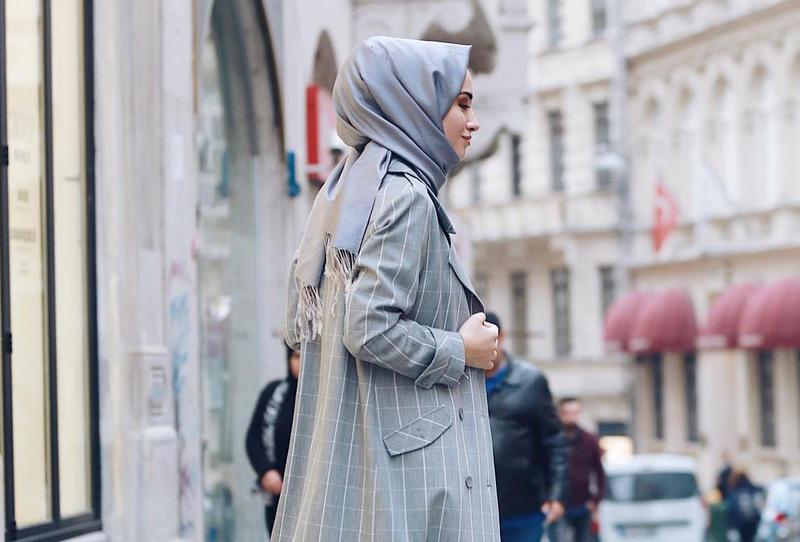 صورة ملابس بنات كيوت محجبات , موضة الشتاء للمحجبات 1108 7