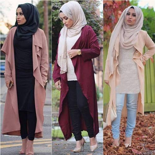 صورة ملابس بنات كيوت محجبات , موضة الشتاء للمحجبات 1108 8