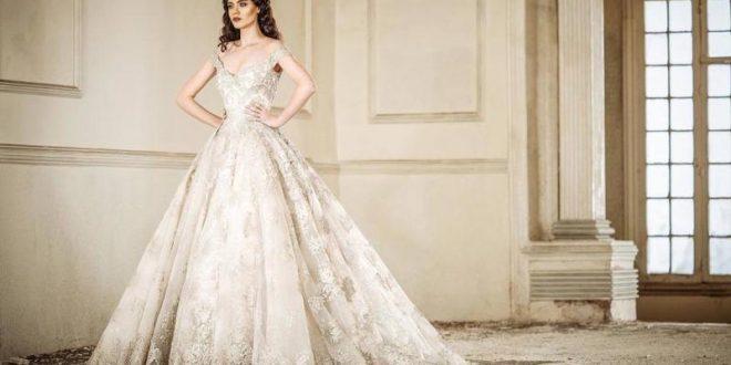 صور فساتين زواج فخمه , تالقي باشيك الفساتين في ليلة عرسك