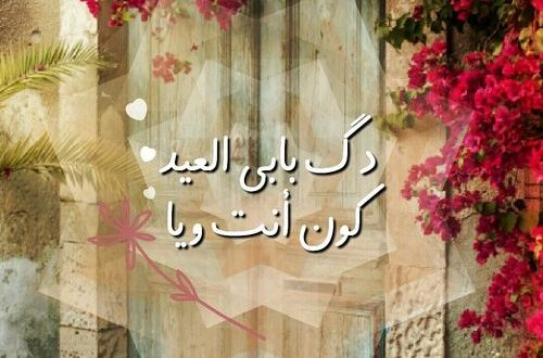 صورة عبارات عن العيد جميله , العيد فرحة واجمل فرحة اغاني وبهجة بكل المعاني