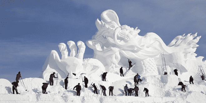 صور تفسير حلم الثلج , تفسير رؤيا الثلج فالمنام