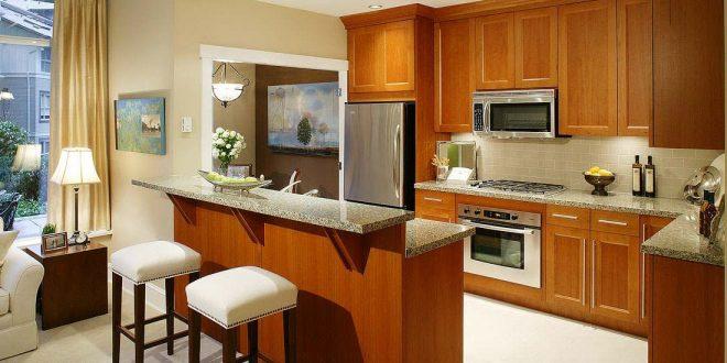 صور ديكور مطبخ مفتوح على الصالة , مطبخ مودرن مفتوح على الصالة