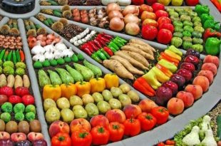 صورة اسرار تجارة الخضار والفواكه , الفواكه والخضروات الطازجه