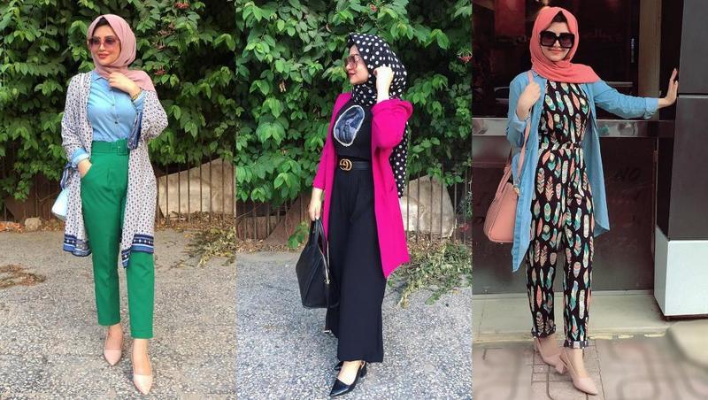 صورة تصاميم ملابس بنات محجبات , ملابس محجبات حديثه 7017 2