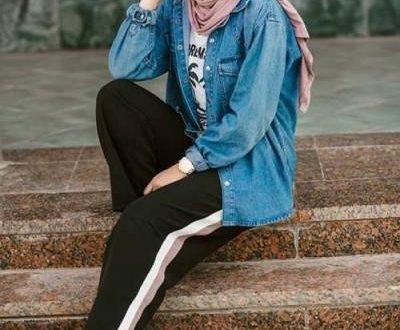 صورة لبس محجبات على الموضة , موديلات و تصاميم لملابس المحجبات