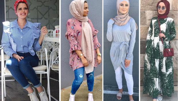 صورة لبس محجبات على الموضة , موديلات و تصاميم لملابس المحجبات 7021 2