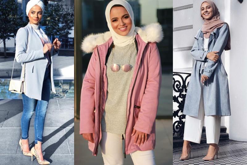 صورة لبس محجبات على الموضة , موديلات و تصاميم لملابس المحجبات 7021 3