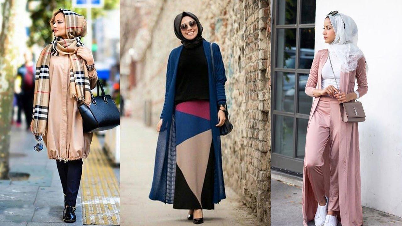 صورة لبس محجبات على الموضة , موديلات و تصاميم لملابس المحجبات 7021 6