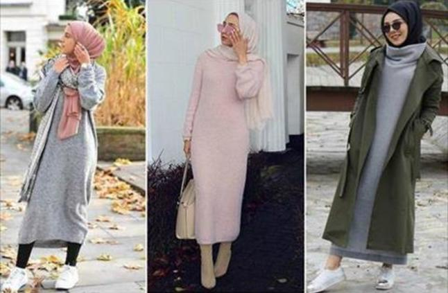 صورة لبس محجبات على الموضة , موديلات و تصاميم لملابس المحجبات 7021 8