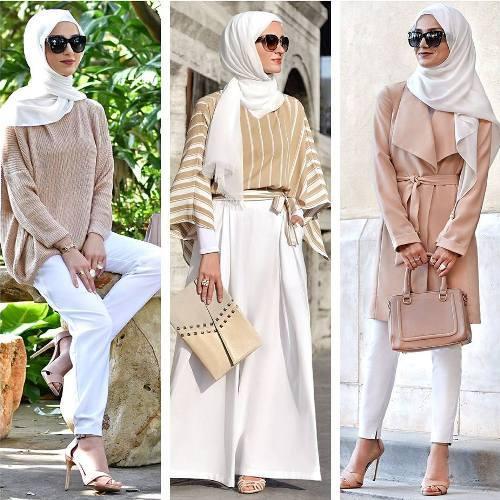 صورة لبس محجبات على الموضة , موديلات و تصاميم لملابس المحجبات 7021 9
