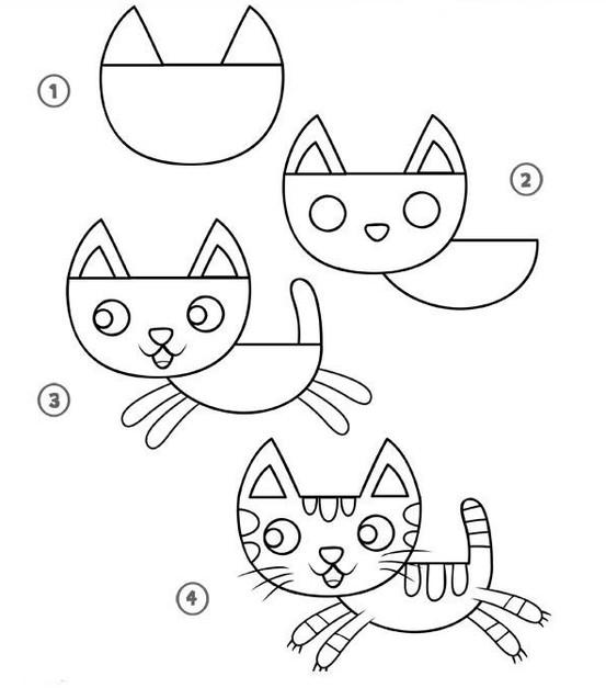 رسومات سهله وبسيطه جدا رسومات لتعليم الاطفال الرسم احاسيس بريئة