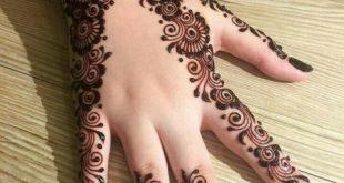 صورة اجمل نقش حناء , صور نقشات حنه فخمه للعروسه