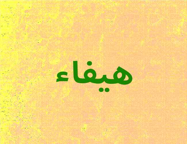 صورة معنى كلمة هيفاء , صفات حامله اسم هيفاء 7197 3