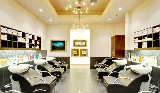 صورة ديكورات صالون نسائي , تصميم داخلي لبيوت التجميل 7210 15