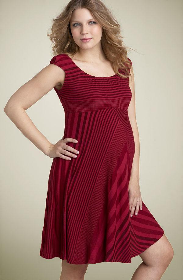صورة ملابس حوامل للعيد , موديلات ملابس للحوامل جديده 7257 6