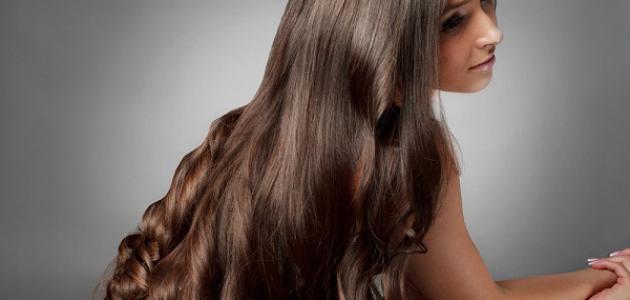 صورة شعر طويل وناعم وكثيف , وصفات طبيعيه للعنايه بالشعر
