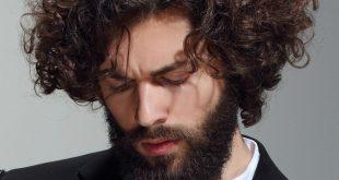 صورة شعر كيرلي للرجال , صور احدث تسريحات الرجال