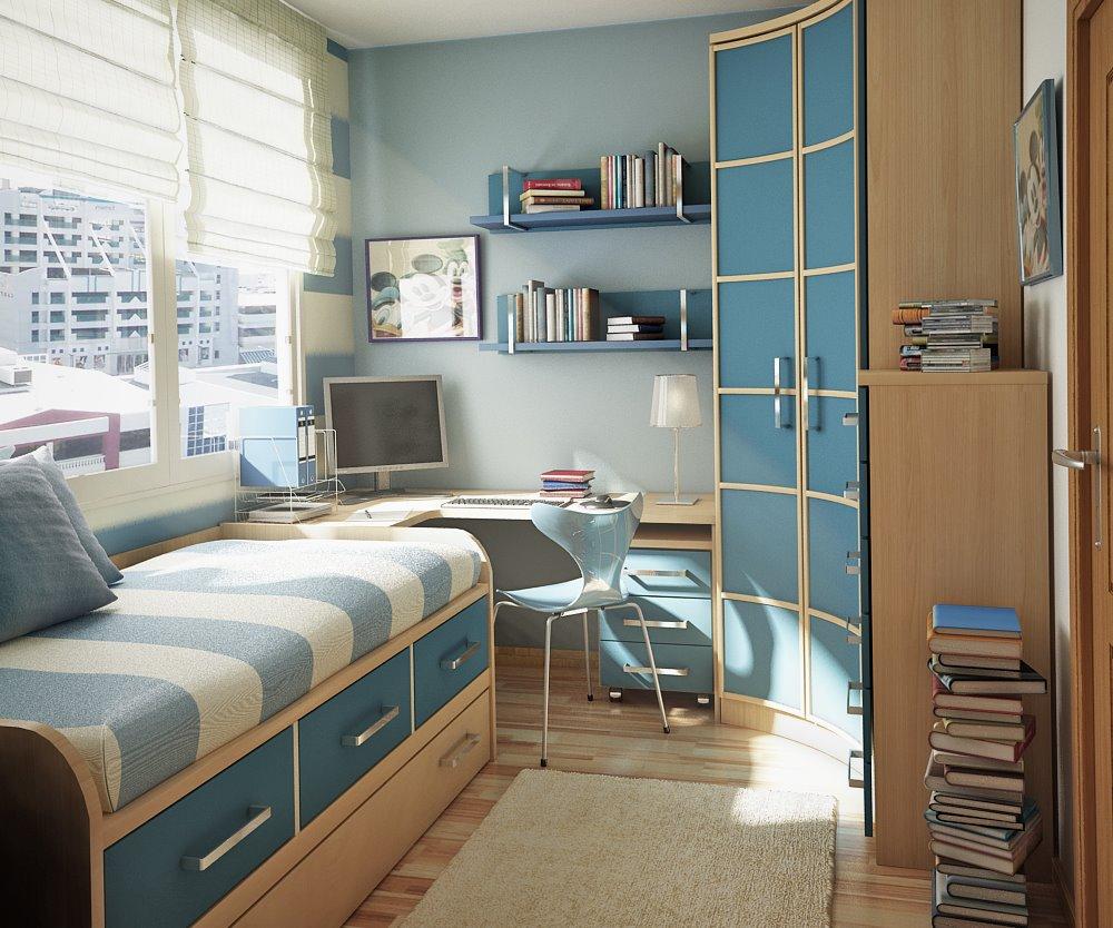 صورة ترتيب غرفة النوم الصغيرة , افكار بسيطه لترتيب غرفه النوم الصغيره