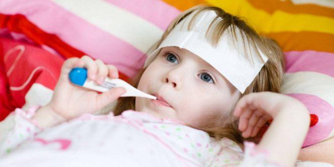 صورة اسباب ارتفاع الحرارة عند الاطفال , نصائح للامهات عند ارتفاع درجه حراره الاطفال