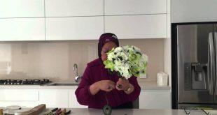 صورة كيفية عمل بوكيه ورد للعروسة , خطوات لعمل احلي بوكيه ورد للزفاف